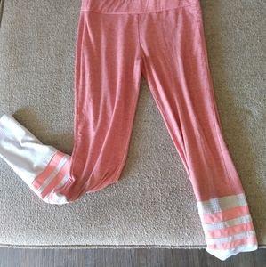 Pink Bombshell Gym Workout Leggings